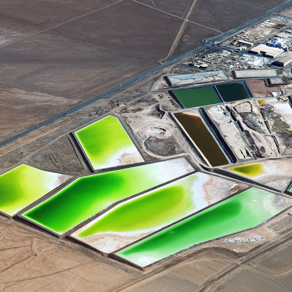 Solar evaporation ponds
